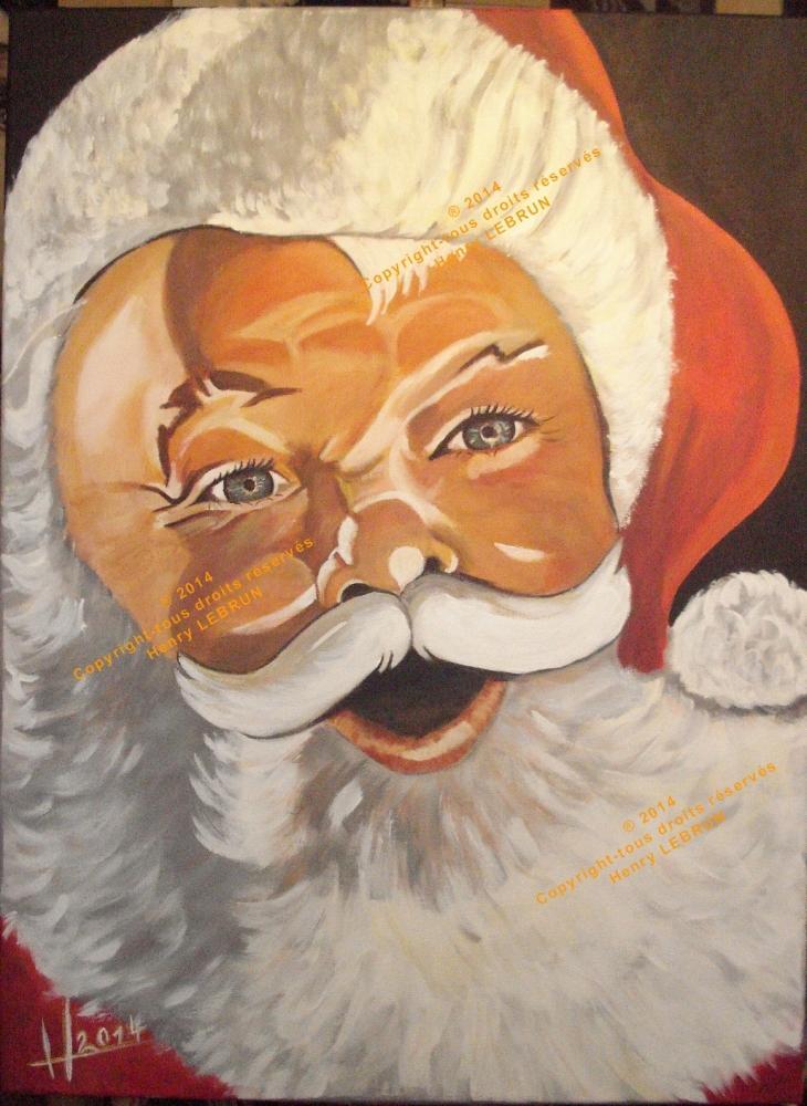 Santa Claus by lhommeloiret